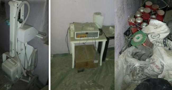 Şırnak'ta PKK'nın kullandığı Röntgen ve EKG cihazı bulundu