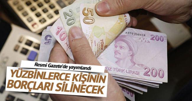 GSS prim borçları Resmi Gazete'de