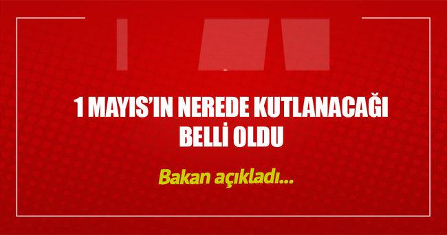 1 Mayıs Bakırköy'de kutlanacak
