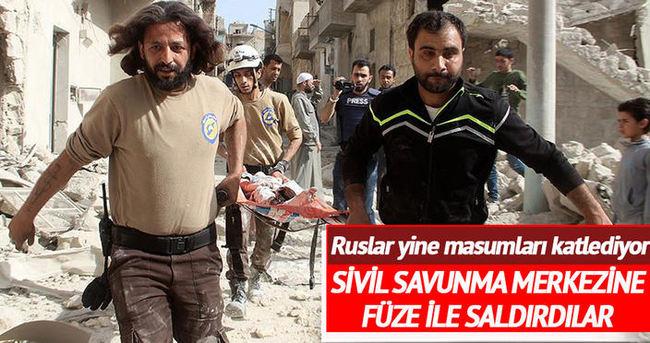 Rusya, balistik füzelerle Halep'e saldırdı