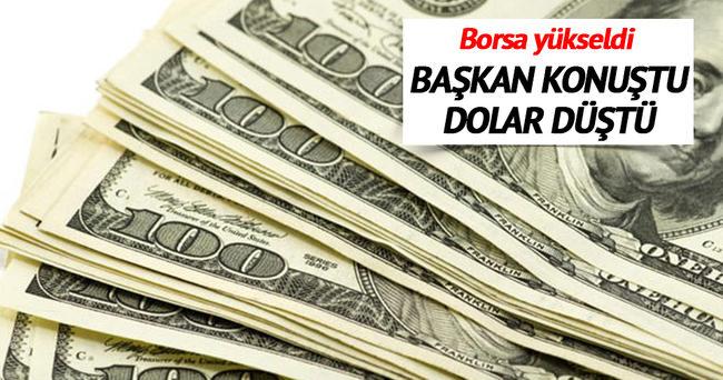 Merkez Bankası Başkanı konuştu, dolar düştü