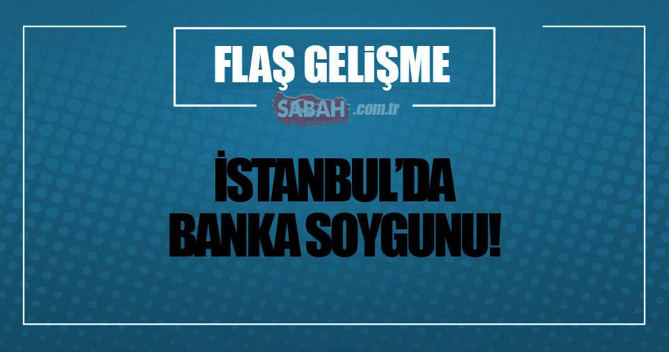 İstanbul Okmeydanı'nda banka şubesi soyuldu