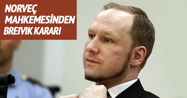 Norveç mahkemesinden Breivik kararı