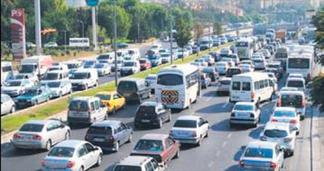 '500 bin LPG'li araç raporsuz