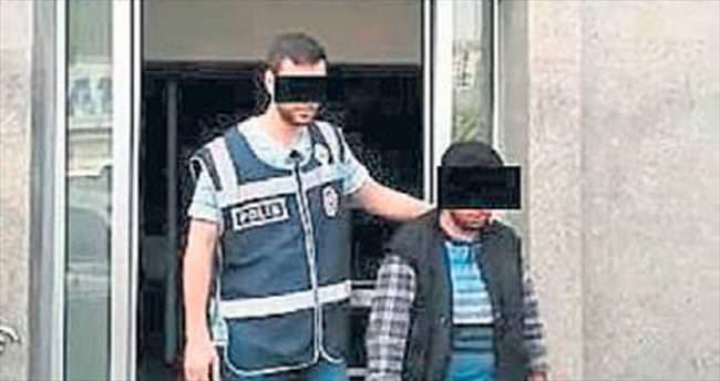Camiden hırsızlık zanlısı tutuklandı