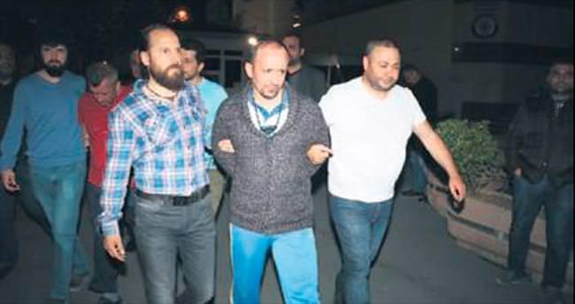 157 yıla mahkûm firari çatı katında yakalandı