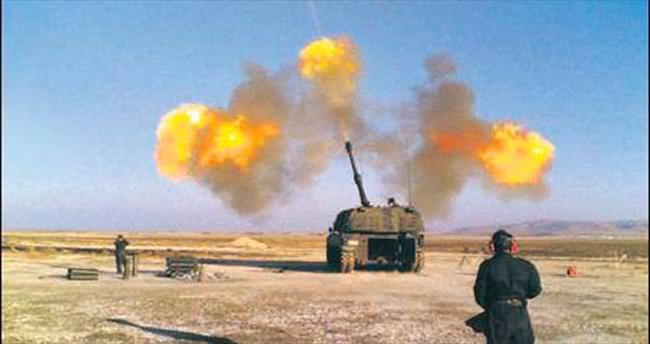 DAEŞ'in 2 füze rampası vuruldu