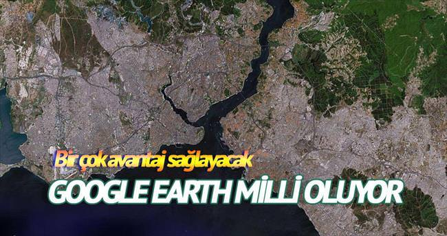 Milli Google Earth yıl sonunda tamam