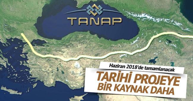 TANAP'a 3 milyar dolar dış kaynak