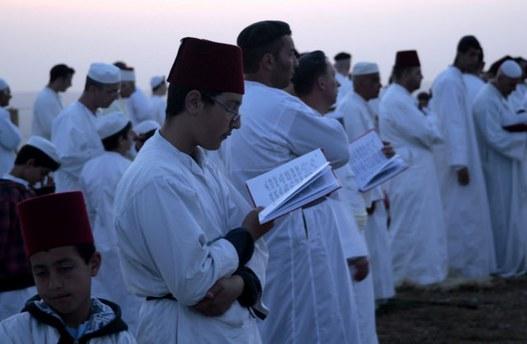 Samiri Yahudilerinin Hamursuz Bayramı kutlamaları