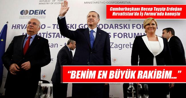 Erdoğan: Benim en büyük rakibim, bürokratik oligarşidir