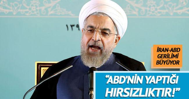 Ruhani, ABD'ye sert çıktı: Bu yutabileceğimiz bir lokma değil