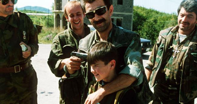Bosna Savaşı sırasında öldürülen çocuklar anıldı