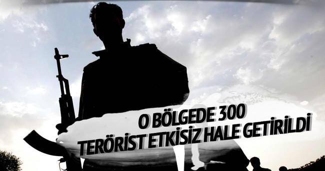 Nusaybin'de 300 terörist etkisiz hale getirildi