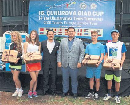 Çukurova Cup'ta heyecan başladı