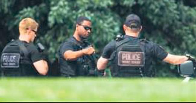 Polisten kaçarken Beyaz Saray'a girdi!