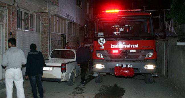 İzmir'de bir evde yangın çıktı: 1 ölü, 1 yaralı