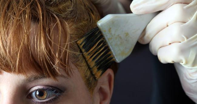 Hamilelik döneminde saçlarınızı boyatmayın