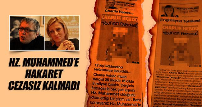Hikmet Çetinkaya ve Ceyda Karan'a hapis cezası!