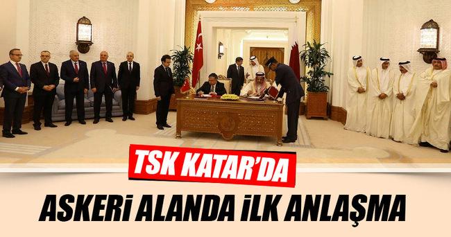 Türkiye Katar arasında ilk anlaşma imzalandı