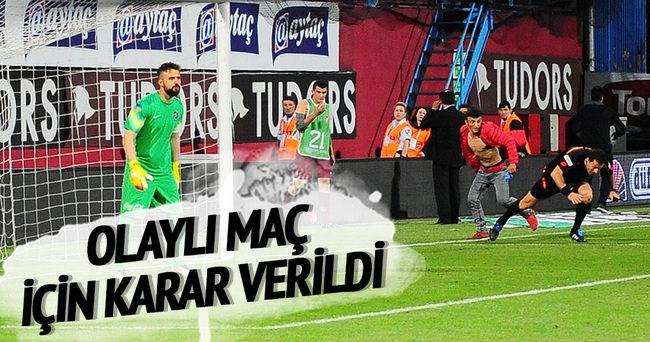 TFF, Trabzonspor-Fenerbahçe maçı kararını açıkladı