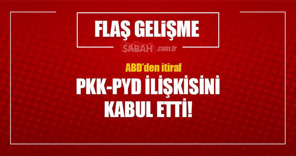 ABD'den PKK/PYD itirafı!