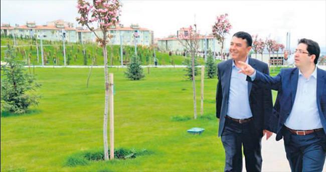 TOKİ Bölgesi Gençosman Parkı'yla nefes alacak