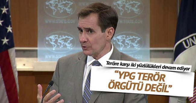 ABD Dışişleri Bakanlığı Sözcüsü: YPG terör örgütü değil
