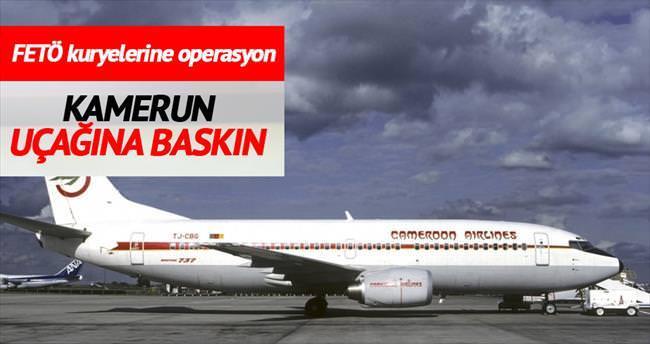 FETÖ kuryelerine uçakta operasyon