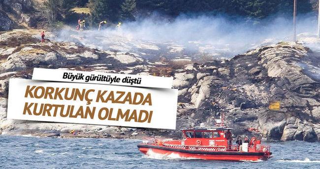 Norveç'te helikopter düştü: 13 ölü