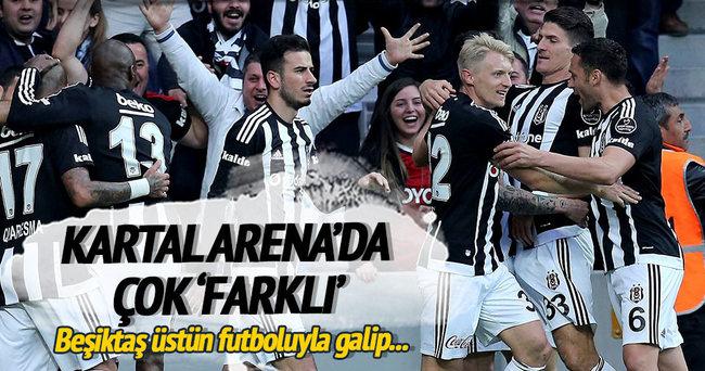 Beşiktaş Arena'da çok 'farklı'