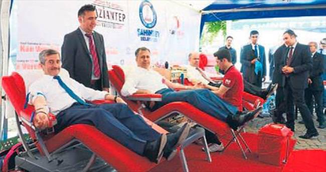 Şahinbey'den kan kampanyası