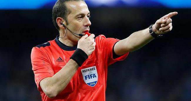 Bayern Münih-Atletico Madrid maçını Cüneyt Çakır yönetecek