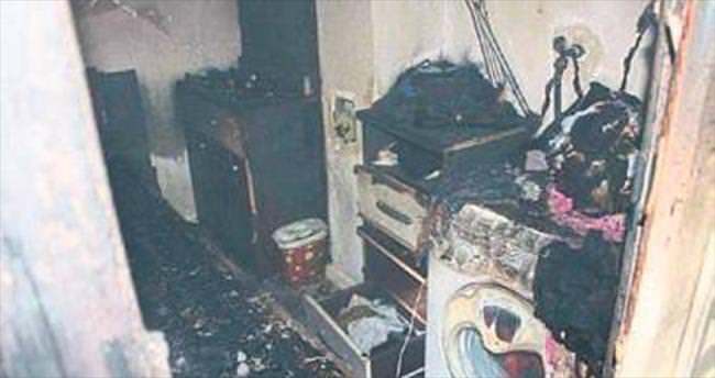 Elektrikli battaniye bir evi küle çevirdi