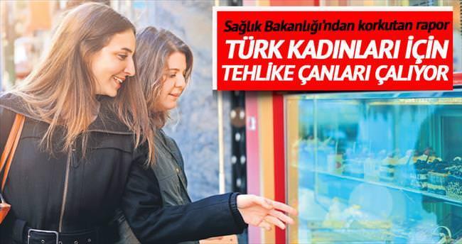 Türk kadınları için kilo alarmı