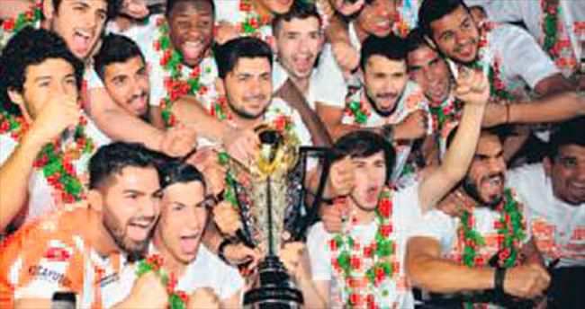 Adana'da kupa bayramı