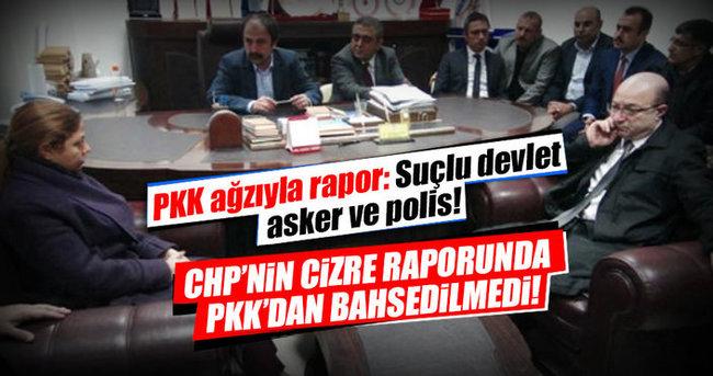 CHP'nin PKK'dan bahsetmeyen Cizre raporu!