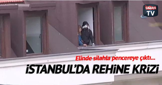 İstanbul'da rehine krizi!