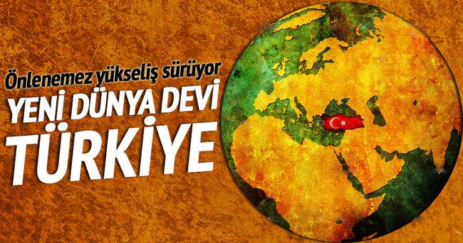 Yeni dünya devi Türkiye