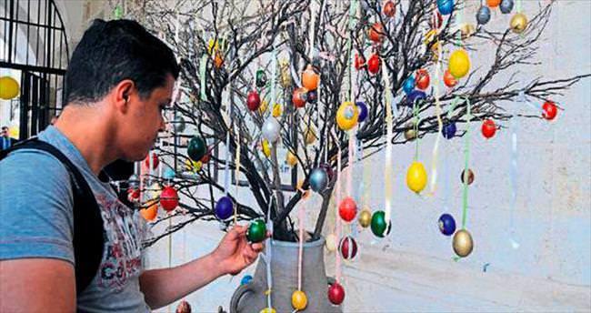 Hatay'da renkli Paskalya Bayramı