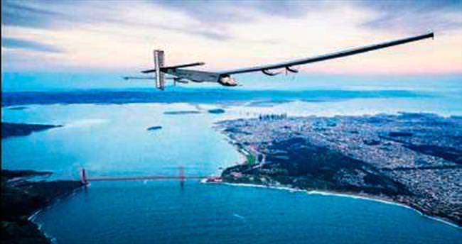 Yakıtsız uçağın hedefi New York