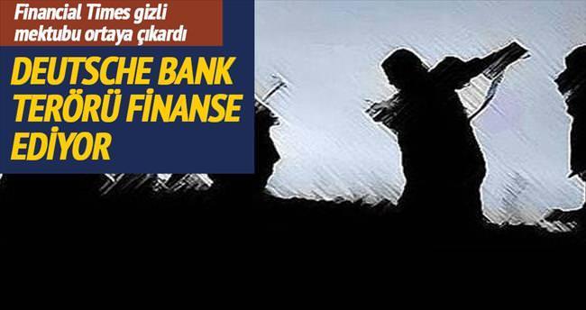 Deutsche Bank terörü finanse ediyor