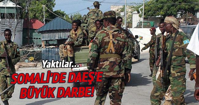 Somali güçleri DAEŞ'e ait kampı yıktı