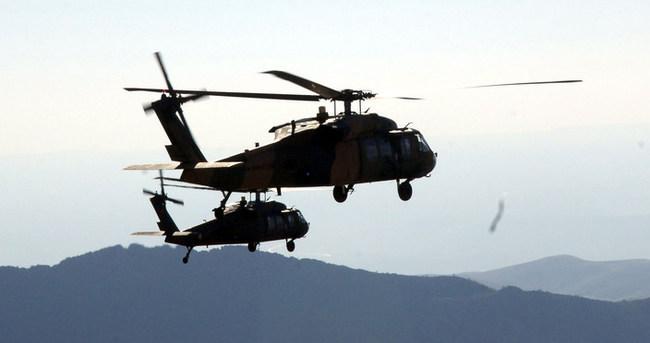 Dicle ve Hani saldırılarını düzenleyen PKK'lılara operasyon