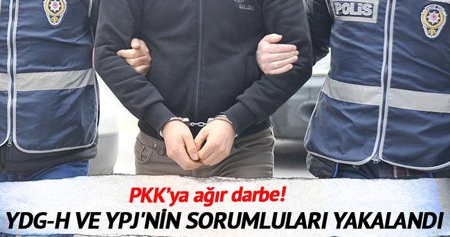YDG-H ve YPJ'nin Marmara bölge sorumluları yakalandı