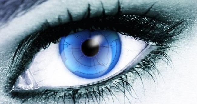 Google, Android'i direkt olarak gözümüze yerleştirebilir