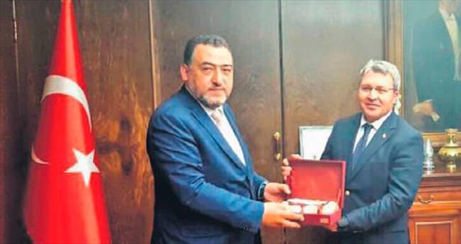 AK Parti vekili Nazlı'dan İller Bankası'na ziyaret