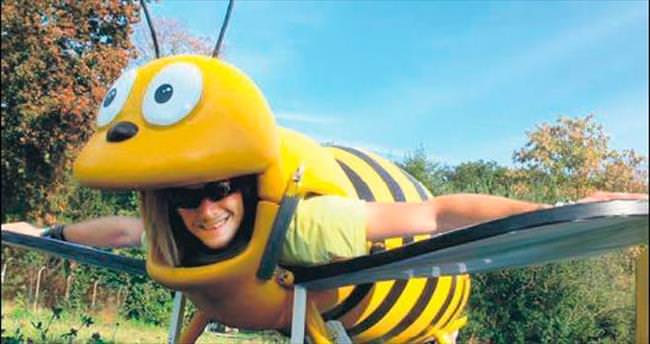 Uçan arı Türkiye'de ilk kez başkentte