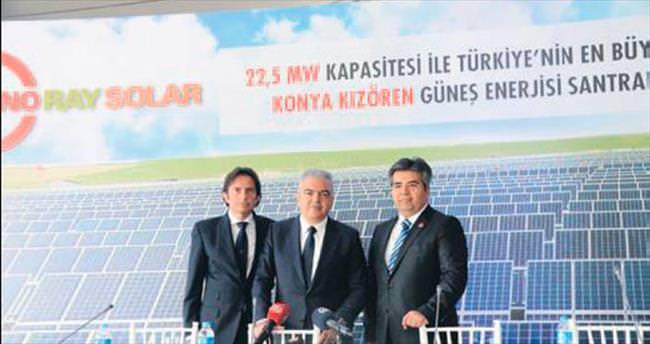 Türkiye'nin en büyük GES'i açıldı