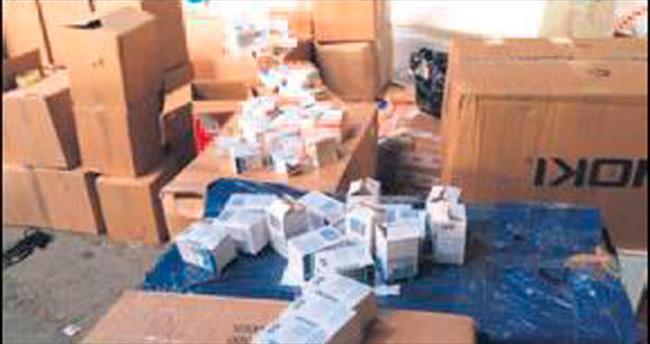 Depodan 110 bin kutu ilaç çıktı